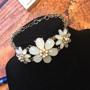 Talbots flower bracelet